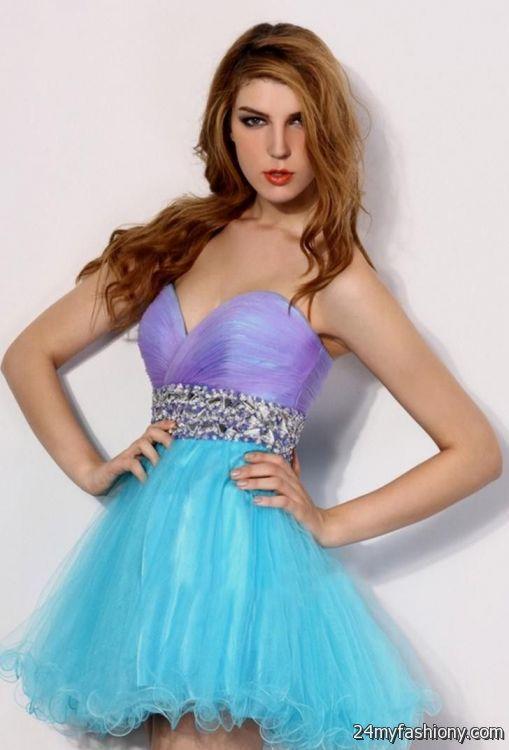 sweet 16 dresses purple and blue 2016-2017 » B2B Fashion