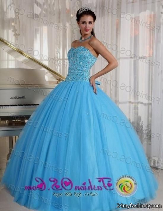 sweet 16 dresses sky blue 2016-2017 » B2B Fashion