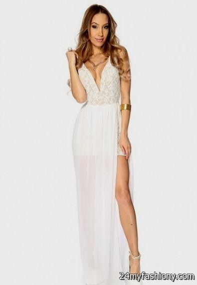tan lace maxi dress 2016-2017 » B2B Fashion