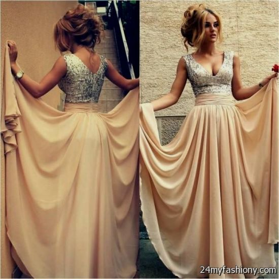 tan prom dress 2016-2017 | B2B Fashion