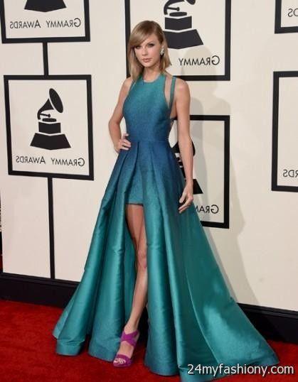 Taylor Swift red carpet dresses 2017-2018 » B2B Fashion