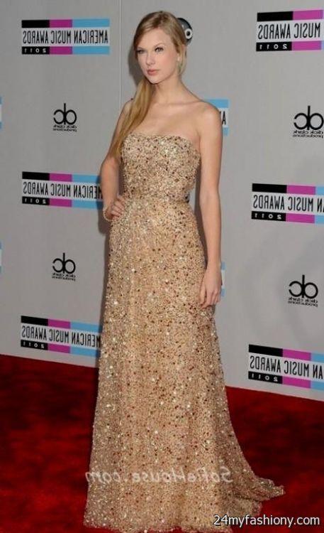 Taylor Swift Red Carpet Dresses Looks B2b Fashion