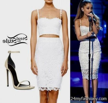 Taylor Swift white lace dress 2017-2018 » B2B Fashion