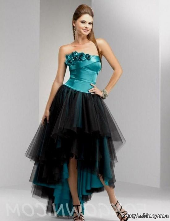 83d4bb984153 Customize your dress and stand out from the crowd. Look your best in these  sexy prom dresses! Pin it. Like! You can share these teal and black ...