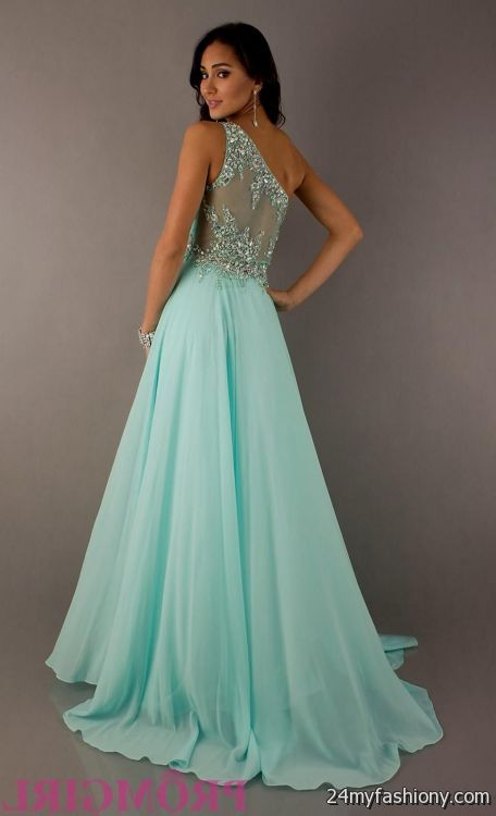 Teal prom dresses pictures