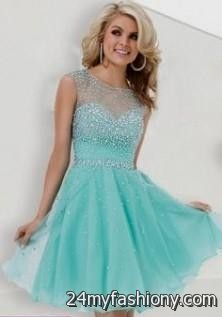 teal homecoming dresses with sleeves 2016-2017 | B2B Fashion