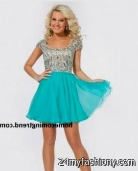 teal homecoming dresses with sleeves 2016-2017 » B2B Fashion