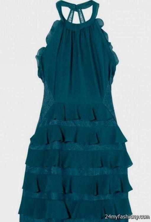 teal lace cocktail dress 20162017 b2b fashion