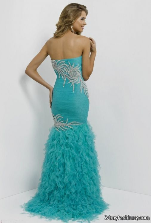 teal mermaid prom dresses 2016-2017 » B2B Fashion