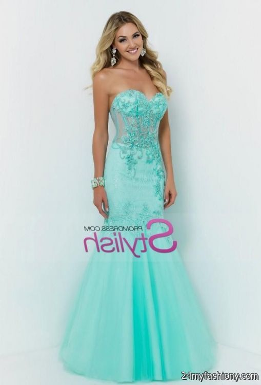 Teal Mermaid Prom Dress - Missy Dress