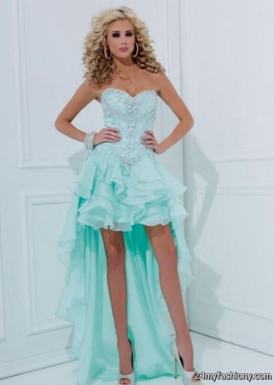 647e1a86ebb You can share these teal prom dresses on Facebook