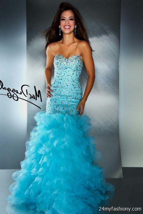 ba147ff8aab teal prom dresses mermaid looks