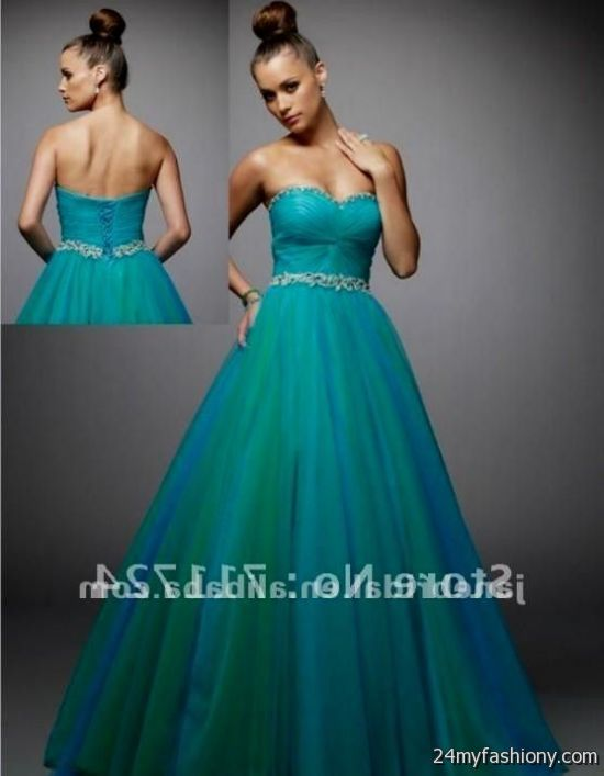 Teal wedding dresses 2016 2017 b2b fashion for Teal dress for wedding