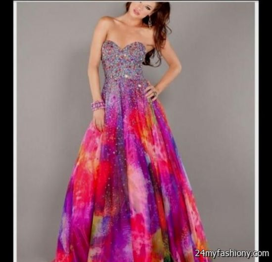 tie dye prom dress 2016-2017 » B2B Fashion