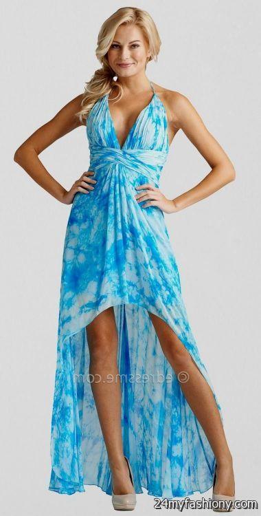 Looks - Tie dye dress prom video