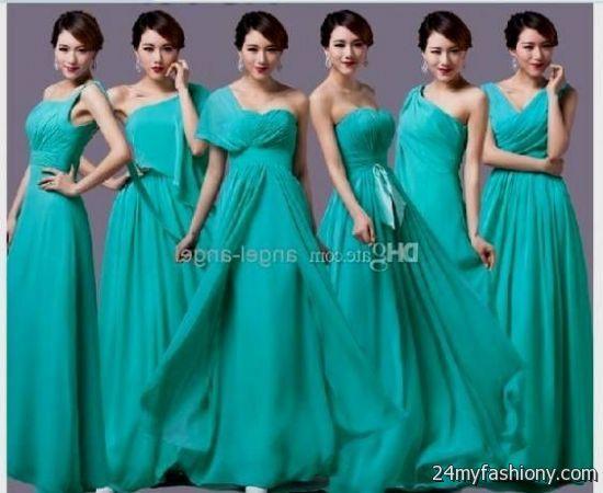Tiffany Blue Bridesmaids Dresses