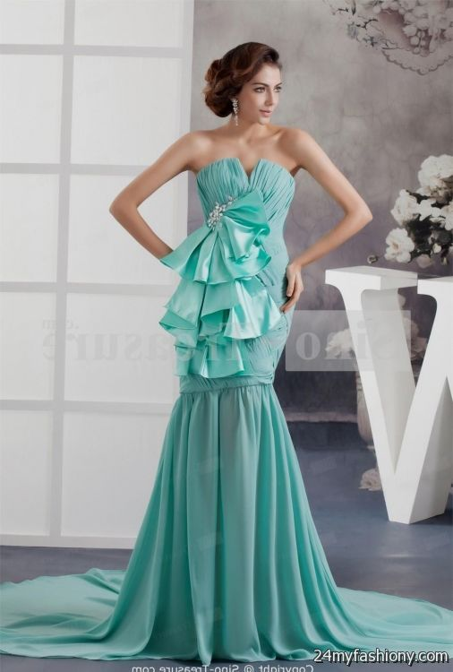 tiffany blue cocktail dress 2016-2017 | B2B Fashion
