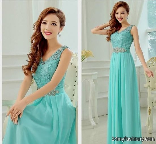 Tiffany blue lace bridesmaid dresses 2016 2017 b2b fashion for Wedding dresses with tiffany blue