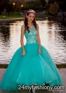 e6959c01440 You can share these tiffany blue quinceanera dresses on Facebook