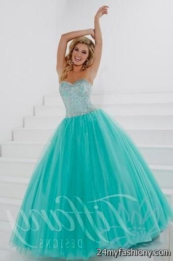 Tiffany Blue Sweet 16 Dresses Looks B2b Fashion