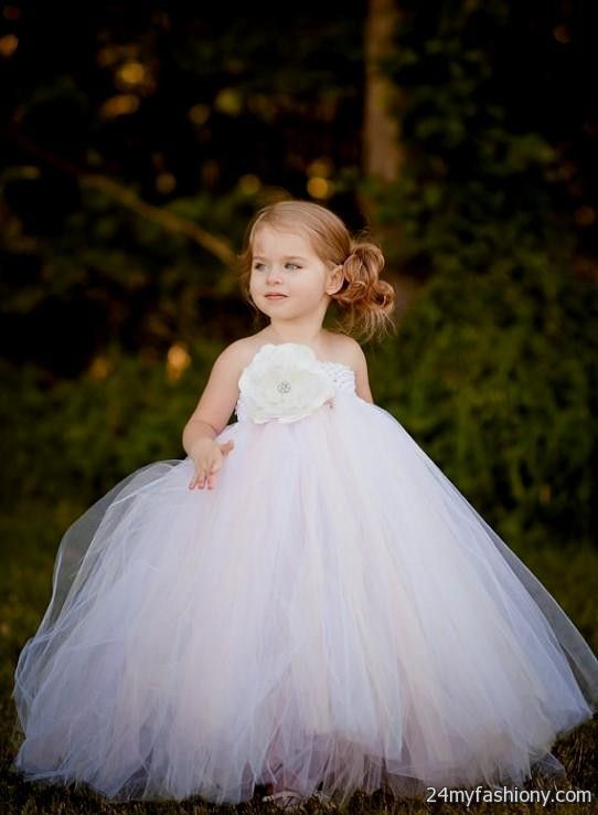 toddler flower girl dresses tutu 2016 2017