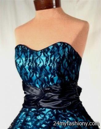 Turquoise dress black lace – Dress online uk