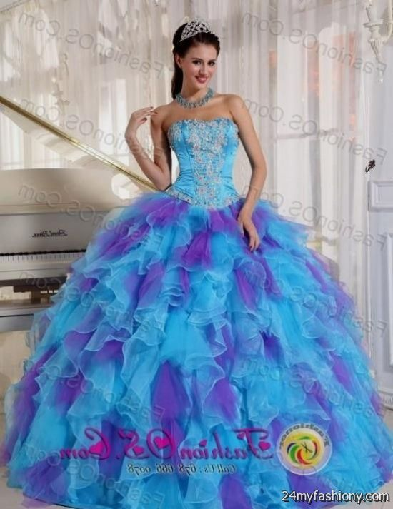 turquoise and purple quinceanera dresses 20162017 b2b