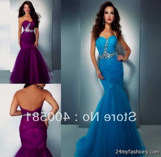 turquoise and purple wedding dress 20162017 b2b fashion