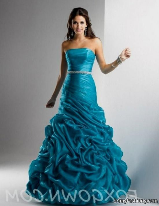 turquoise green prom dress 2016-2017 | B2B Fashion