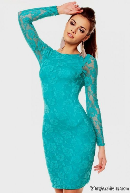 0290abfad711 You can share these turquoise lace dresses on Facebook