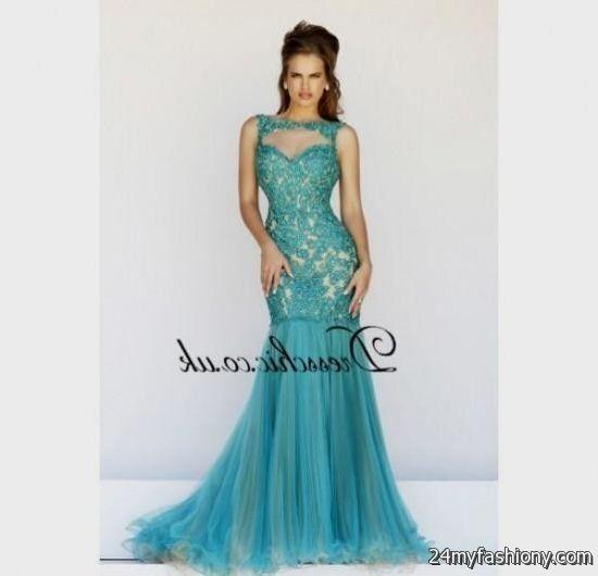turquoise lace prom dress 20162017 b2b fashion