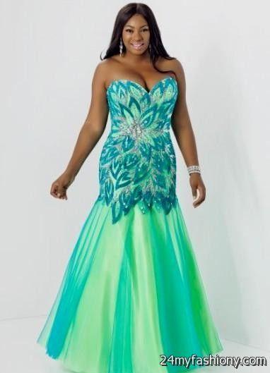 Turquoise mermaid prom dress 2016-2017 » B2B Fashion