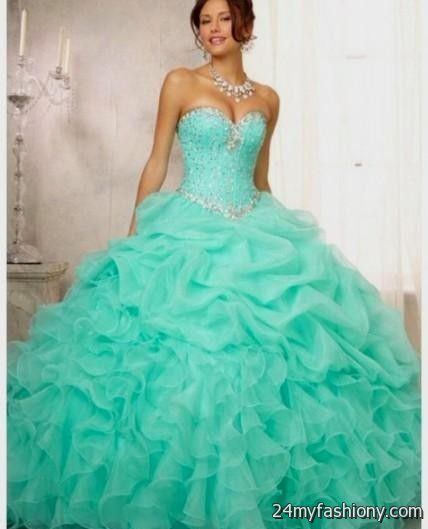turquoise quinceanera dresses 2016-2017 | B2B Fashion