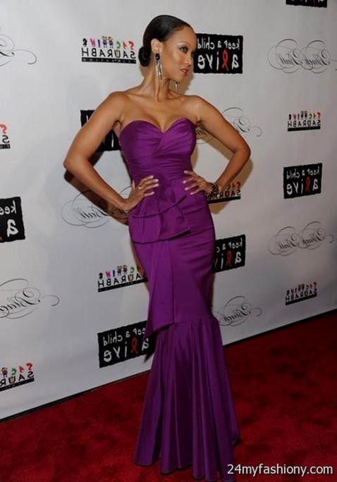 tyra banks red carpet dresses World dresses