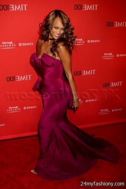 Tyra Banks Red Carpet Dresses Looks B2b Fashion