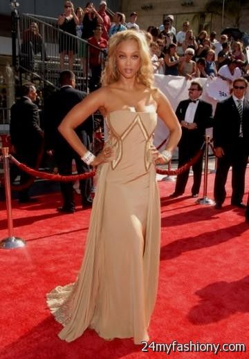 Tyra Banks Red Carpet Dresses Looks B2b Fashion