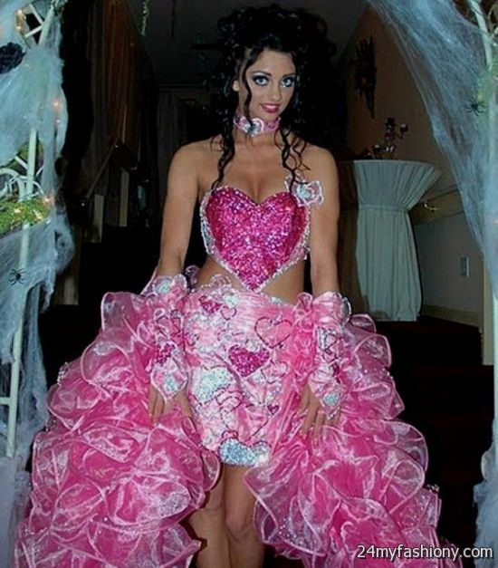 Hideous Wedding Gowns: Ugly Pink Bridesmaid Dress Looks