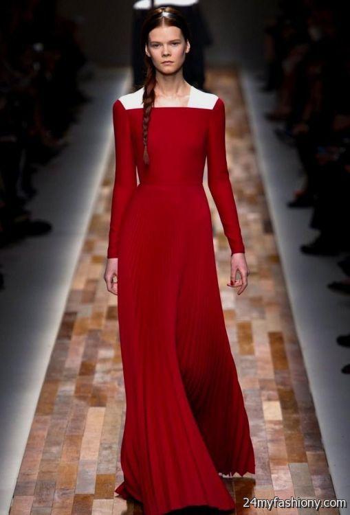 Valentino Gowns Runway 2017 2018 B2b Fashion