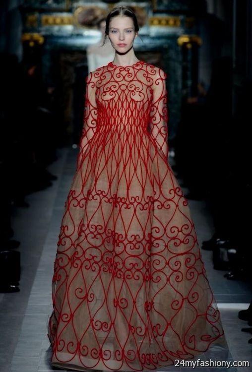 7f24fc5b8cc Valentino Gowns Runway 2017 2018 B2b Fashion