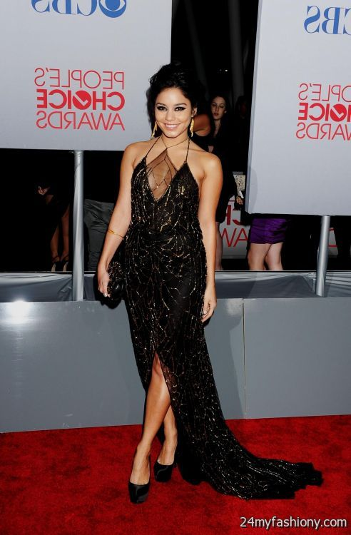 vanessa hudgens black lace dress 2016-2017 | B2B Fashion