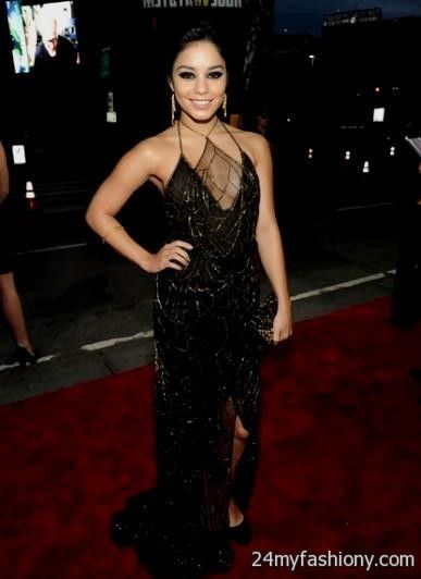 Vanessa Hudgens Red Carpet Dresses 2013