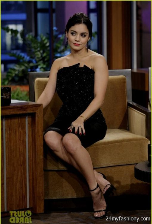 vanessa hudgens yellow dress jay leno 2016-2017 » B2B Fashion
