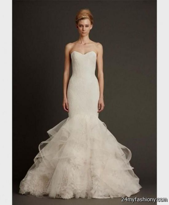 vera wang mermaid wedding dresses 2016-2017 | B2B Fashion