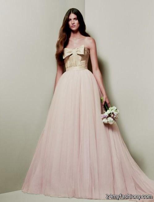 Vera wang yellow wedding dress