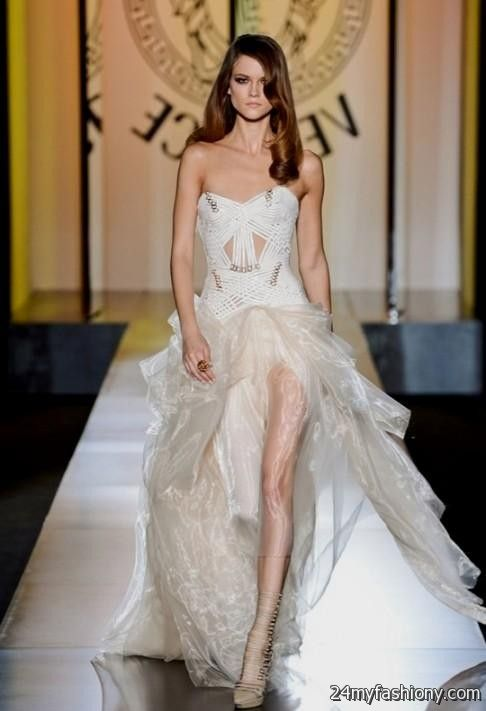 versace evening gowns 2016-2017 | B2B Fashion