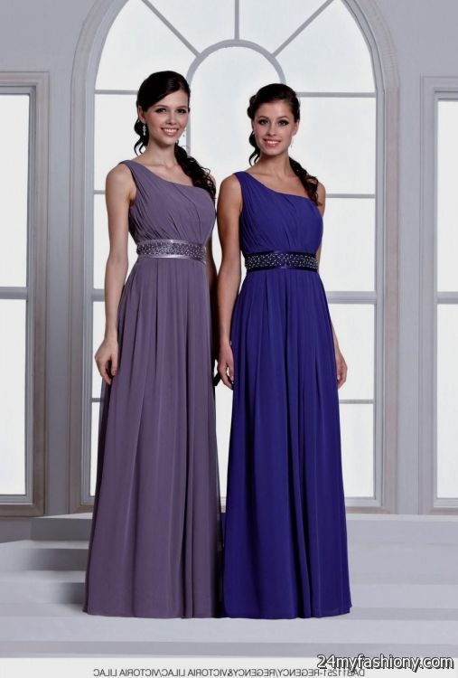 victorian lilac bridesmaid dresses 2016-2017 | B2B Fashion