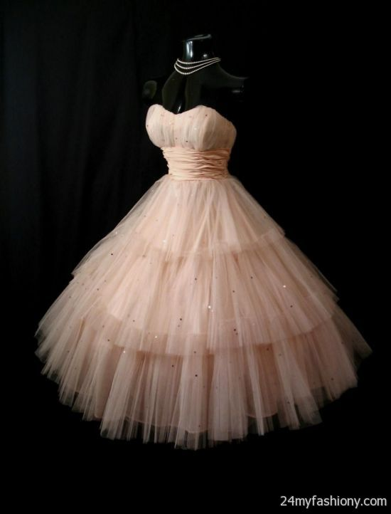 Vintage 50s Prom Dress Looks B2b Fashion