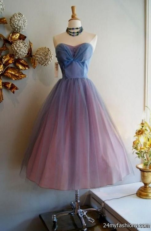 Vintage 50s Prom Dress 2016 2017 B2b Fashion