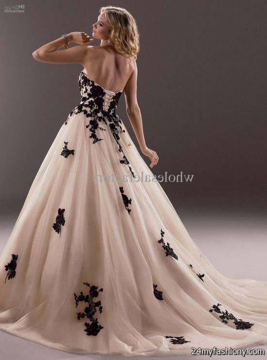 vintage black lace wedding dress 20162017 b2b fashion