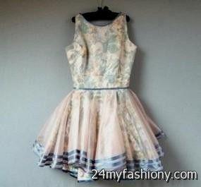 vintage dresses tumblr looks | B2B Fashion